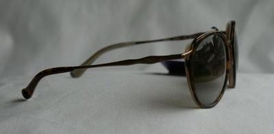 Anna Sui Sunglasses AS 857 163 Havana Cream