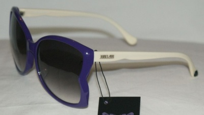 Anna Sui Sunglasses AS 871 724 Purple