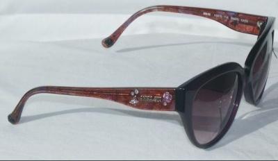 Anna Sui Sunglasses AS 875 718 Purple