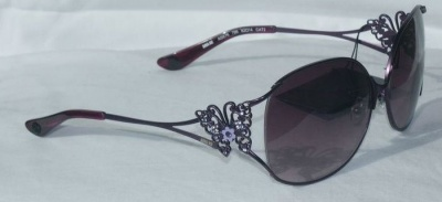 Anna Sui Sunglasses AS 876 799 Purple