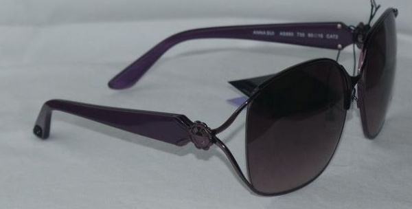 Anna Sui Sunglasses AS 880 735 Purple