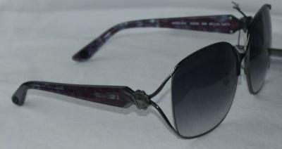 Anna Sui Sunglasses AS 880 986 Dark Gun