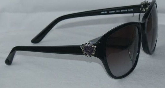 Anna Sui Sunglasses AS 881 001 Black