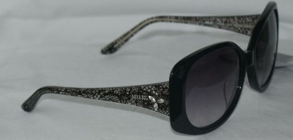 Anna Sui Sunglasses AS 886 002 Black Lace