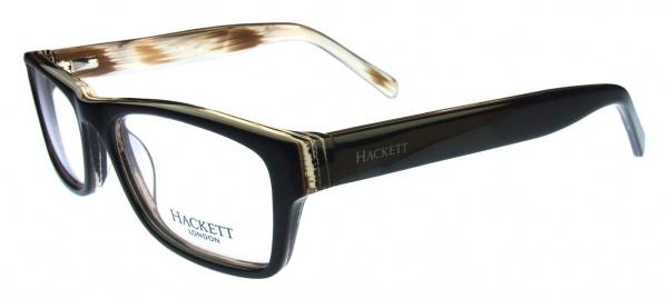 Hackett London HEK 1080 Black Brown Horn