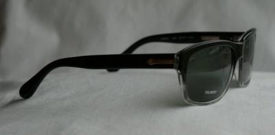 Hackett Sunglasses HSB 066 08P Black Crystal