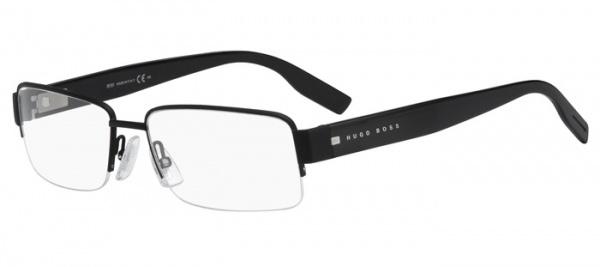Hugo Boss 0480 Matte Black Shiny Black