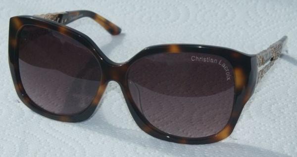Christian Lacroix Sunglasses CL 5004 185 Ecaille Foncee