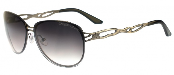 Christian Lacroix Sunglasses CL 8002 902 Dark Silver