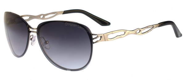 Christian Lacroix Sunglasses CL 8002 901 Smoked Silver