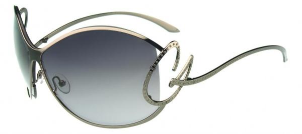 Christian Lacroix Sunglasses CL 9003 900 Gun Fonce