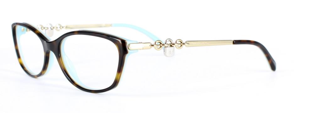 71bb5751d984 Tiffany   Co glasses 2063 8134 Top Havana Blue - DesignerFrames2u